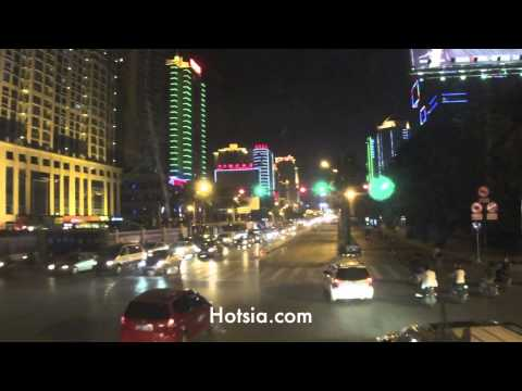 Nanning at night in Guangxi