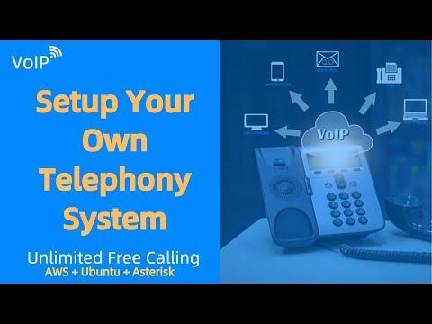 Setup voip server : How to setup a voip phone system | Setup Asterisk with UBUNTU & AWS | SIP Server