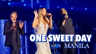 One Sweet Day - Mariah Carey feat. Daniel moore & Trey Lorenz (Live in Manila 2018)