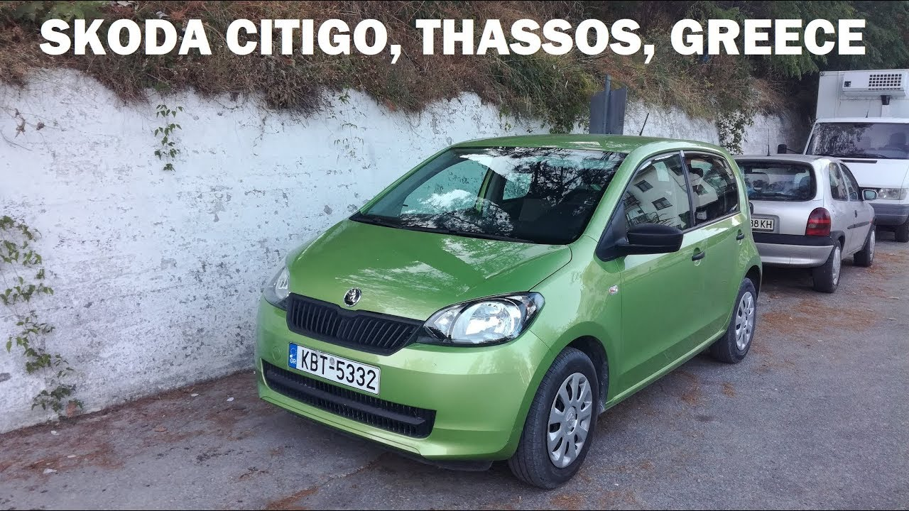 Skoda Citigo Potos Car Rentals Thassos Shkoda Sitigo Prokat