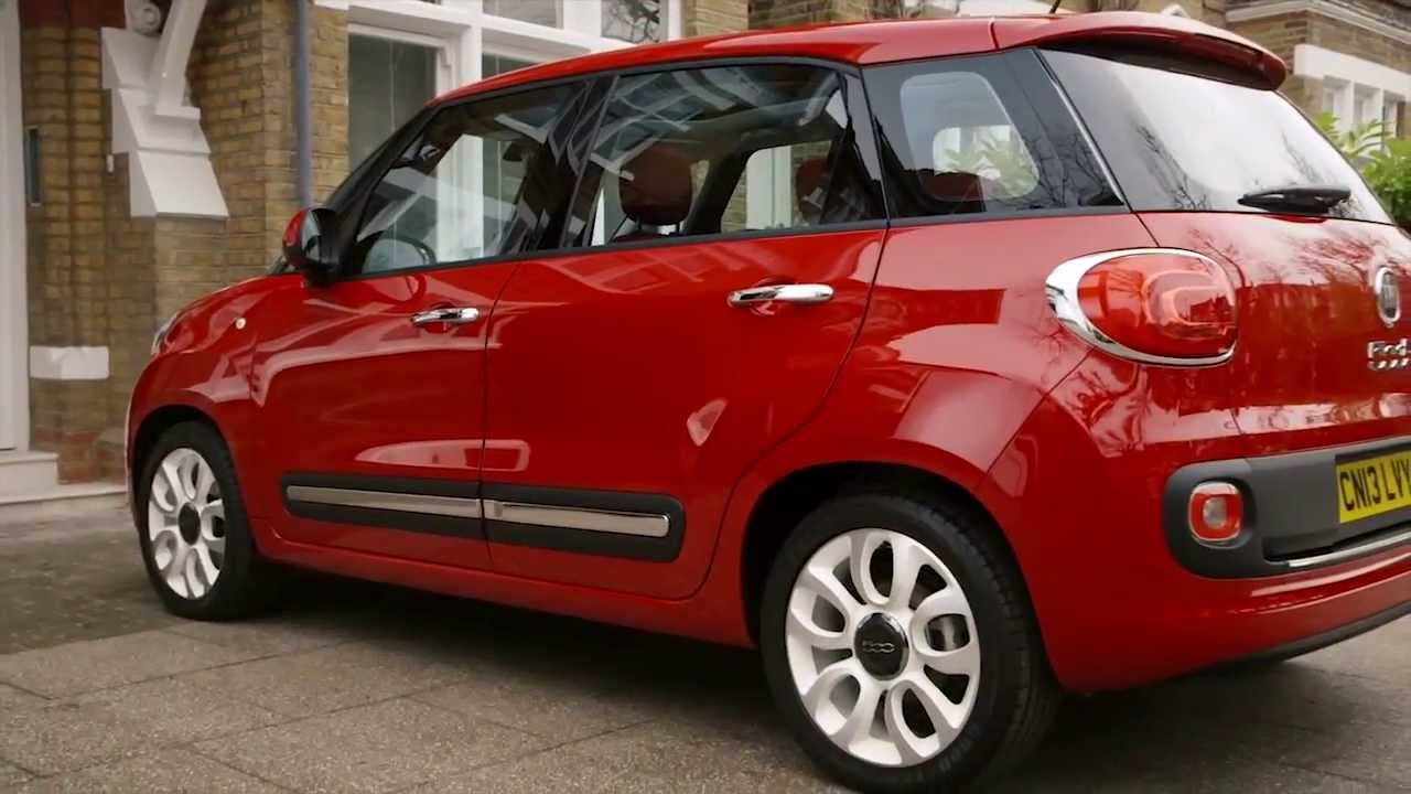 Car Trunk Storage >> Fiat | The New 500L Storage Space | Park's Motor Group ...