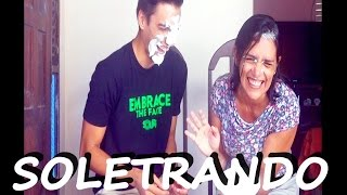 PRIMEIRO VIDEO / SOLETRANDO com minha mãe