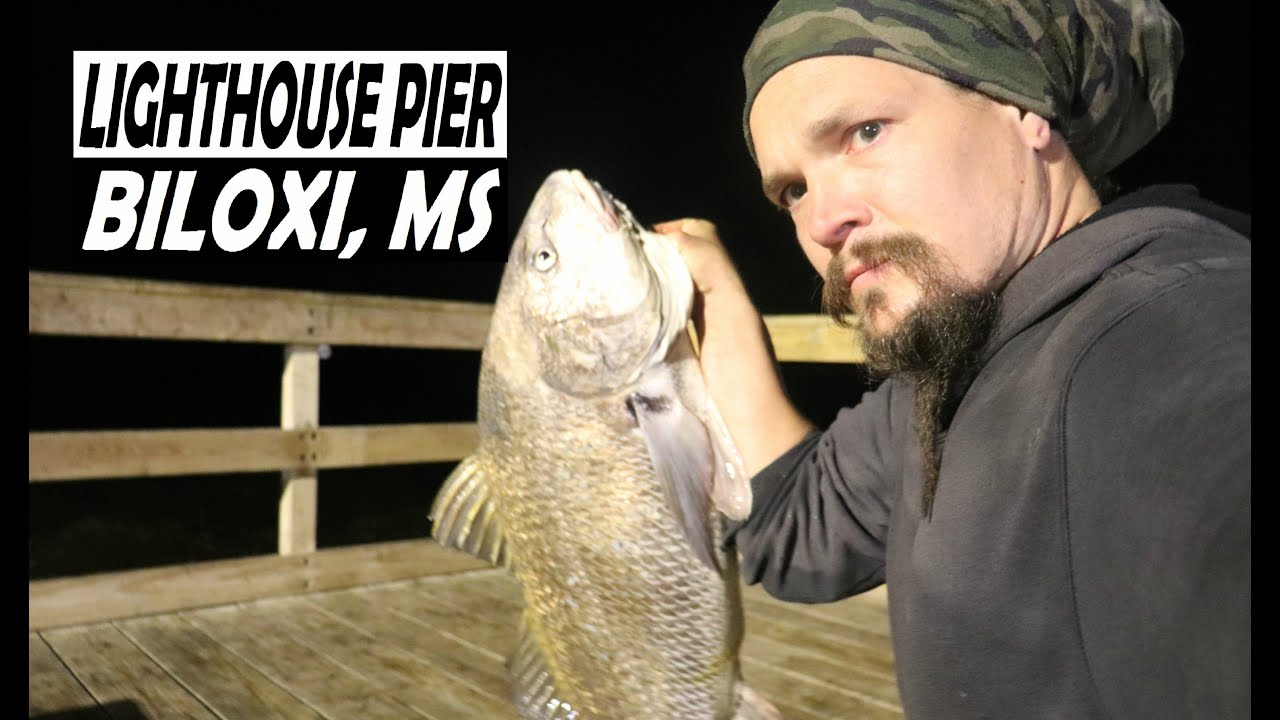 A Wild Night In Biloxi Lighthouse Fishing Pier Youtube