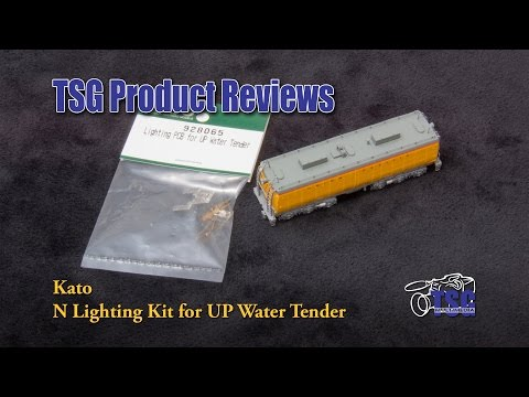 N Scale Lighting Kit UP 844 Tender Kato Product Review