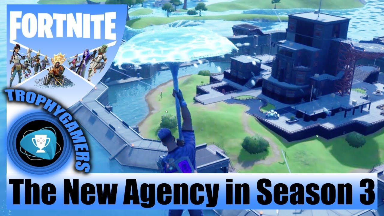 Download Fortnite - The Authority Location - Find Key and Open the Vault in the New Agency Chapter 2 Season 3