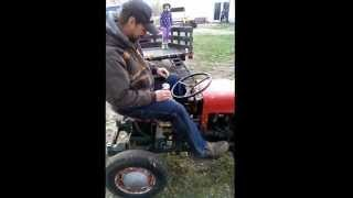 Ford Popular Engine In Diy Garden Tractor Vid #3