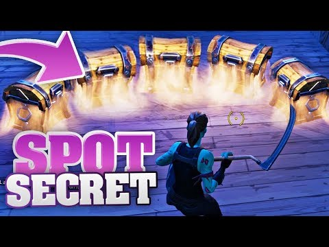 TUTO► LES 2 MEILLEURS SPOTS ULTRA SECRETS (FORTNITE Tuto FR Battle Royale)