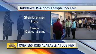 Job News hosting a job fair at Steinbrenner Field on Wednesday, April 25 to fill over 550 positions
