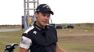 Danny Willett on the Zen Green Stage