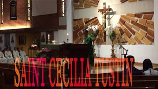 Welcome Father Cha Luân Buôn Ma Thuột   Cộng Đoàn Saint Cecilia Catholic Tustin California 2018