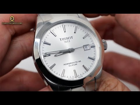 UNBOXING TISSOT GENTLEMAN POWERMATIC 80 SILICIUM WHITE DIAL T1274071103100