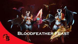 Dota 2 Store Queen Of Pain Bloodfeather Feast Golden Immortal