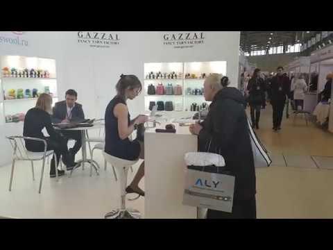 Gazzal at 50th International Federal Trade Fair TEXTILLEGPROM  20-23.03.2018 - Moscow Russia