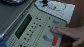 Audiometer Familiarization