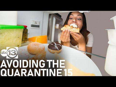How to avoid the 'Quarantine 15'