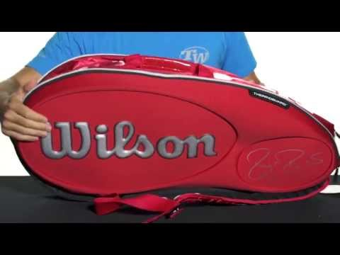 Wilson Federer LTD Edition 15 Pack Bag