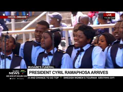Mugabe funeral: Proceedings start