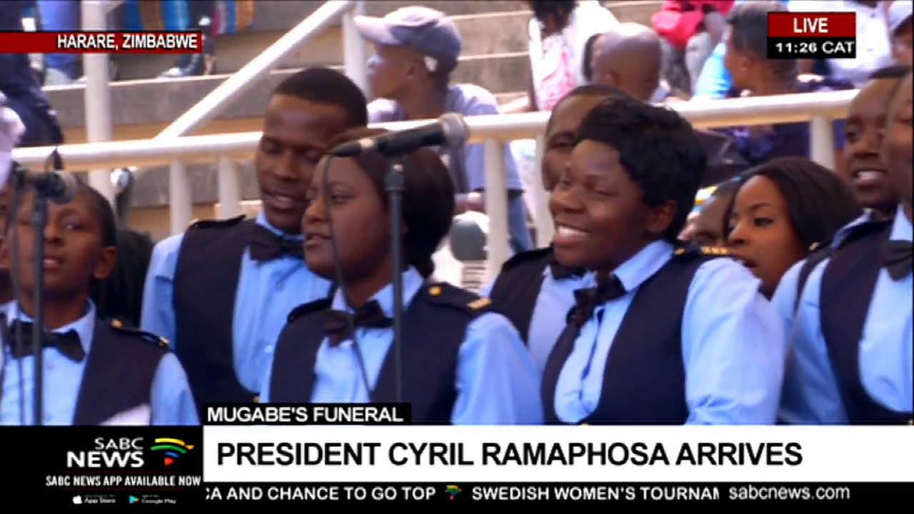 Mugabe funeral: Proceedings start