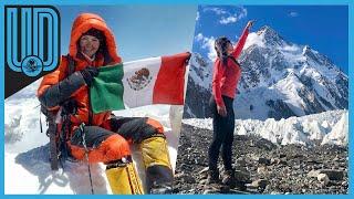 Viridiana Álvarez dio un giro a su vida cuando subió a una montaña, donde hoy destaca