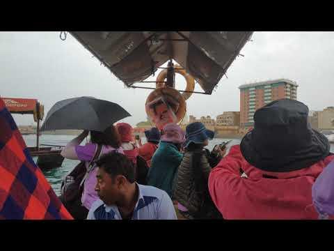 Dubai: To Gold souk and Spice souk boat