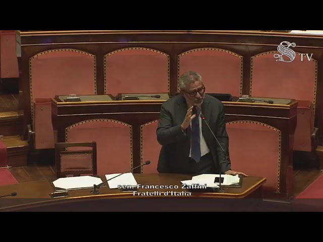 FdI Parlamento - Dichiarazione di voto del Sen. Zaffini sulle disposizioni in materia di sicurezza