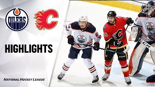Oilers @ Flames 3/17/21 | NHL Highlights