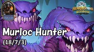 [Hearthstone] Murloc Hunter No Commentary(2018/7/3)