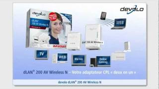 devolo dLAN® 200 AV Wireless N (française)