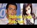 Salman Khan React On Dinchak Pooja video