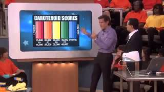 Dr Oz With Antioxidant Biophotonic Scanner