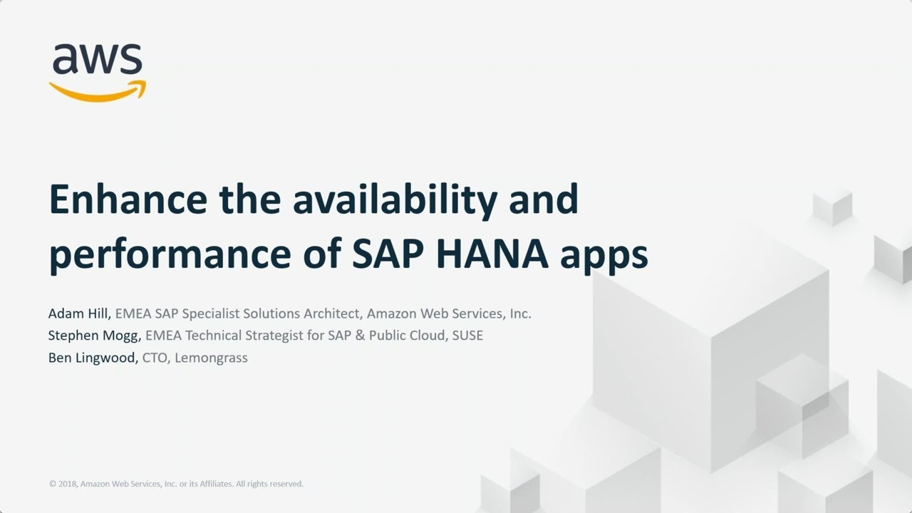 amazon web services and sap - 1280×720