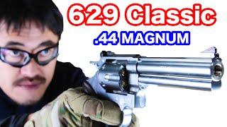 マルシン M629の操作 外観 初速 命中精度 連射性能をマック堺がレビュー...