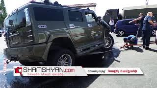 Խոշոր ու ողբերգական ավտովթար Երևանում  բախվել են Nissan ը, Hummer ն ու Opel ը