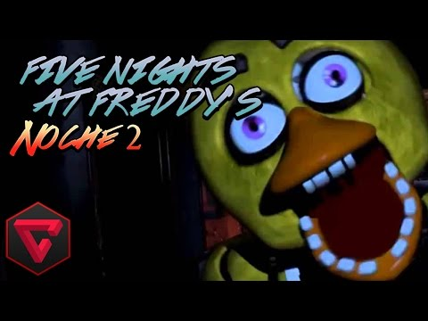 FIVE NIGHTS AT FREDDY'S 1: NOCHE 2 - EL TEMBLOR DE MANO | iTownGamePlay (Night 2)