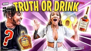 TRUTH OR DRINK WITH DDG.... **THINGS GOT REAL**