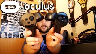 OCULUS RIFT + TOUCH CONTROLLER 📦 UNBOXING (#sponsored)