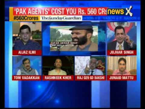 Nation at 9: Why is the government providing VIP facilities to Kashmiri Separatists?