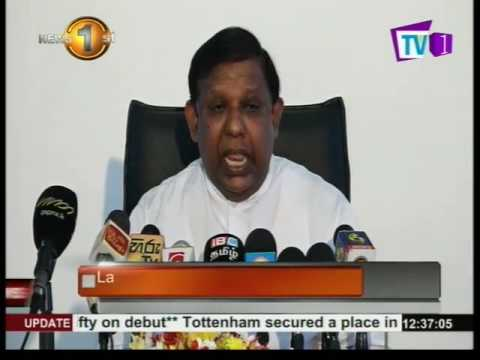 News 1st : State Minister of Science, Technology and Research express views about Basil Rajapaksa
