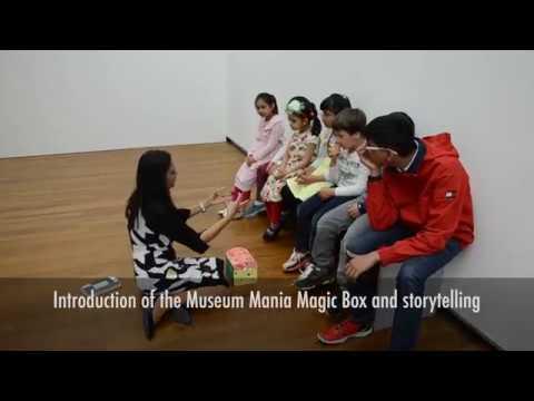 Interactive play Kunsthaus Zürich and outdoor workshop