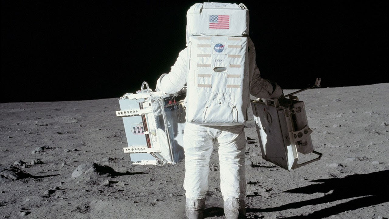 Moon Landing Music Video High Resolution Apollo 11 Images Youtube