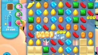 Candy Crush Soda Saga Level 748 - NO BOOSTERS