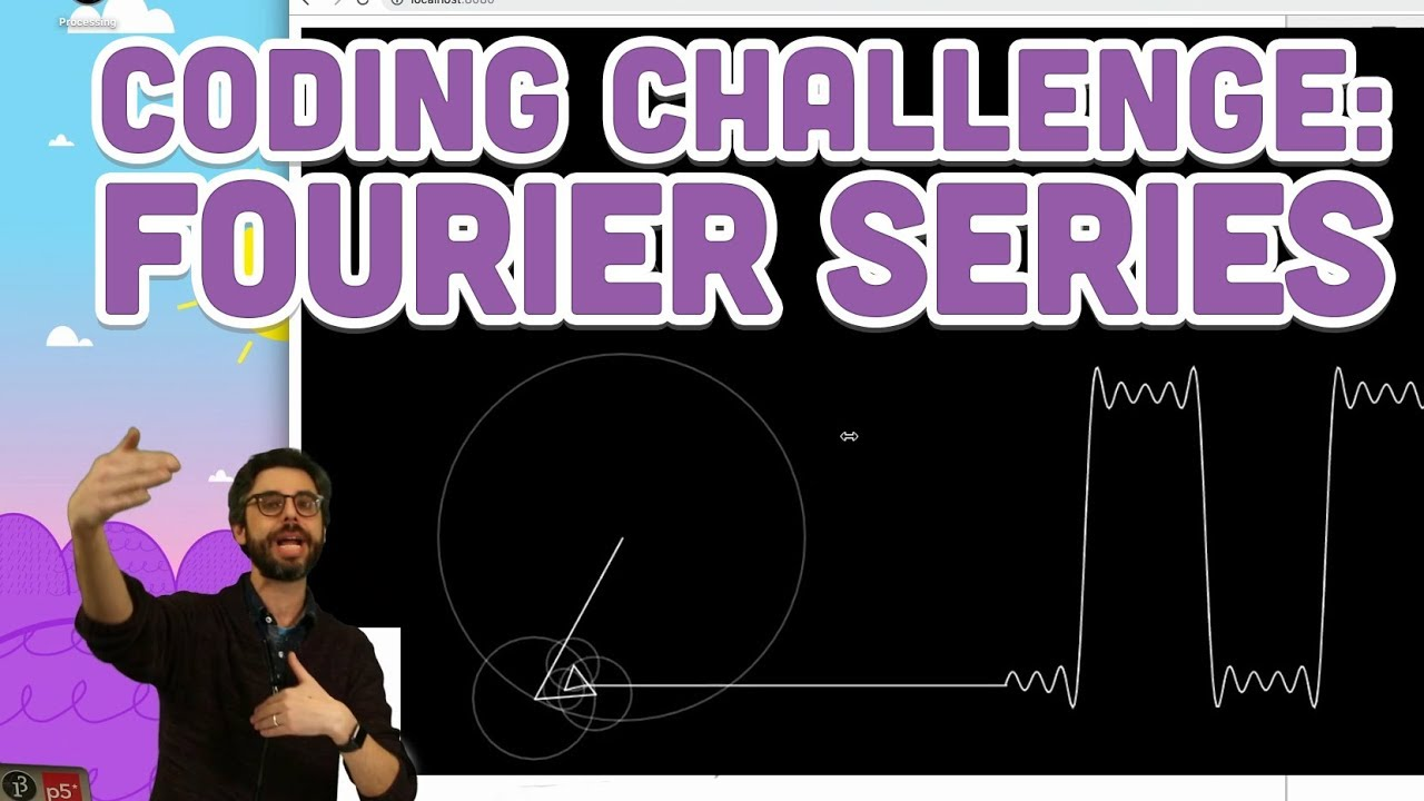 Coding Challenge #125: Fourier Series