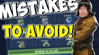 Don't Make These Mistakes in SWGOH!! | Star Wars: Galaxy of Heroes