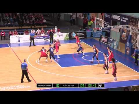 Worcester Wolves Vs Leicester Riders 93-91 10-12 fg 4-5 3fg 24 points