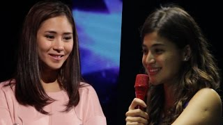 Anne Curtis and Sarah Geronimo Jamming
