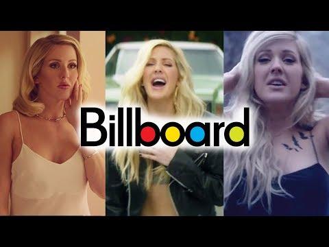 Ellie Goulding - Billboard Chart History