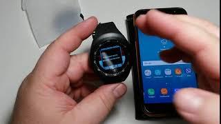 Qanday qilib va Y1-PRO Aqlli Soati ulanish modernizatsiya telefon aqlli wristwatch aqlli A1 tomosha qilish uchun