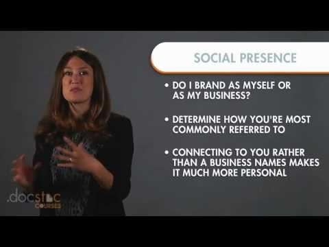 Step 2 - Create Your Social Presence - 6-Step Strategy To Profitable Social Media Marketing