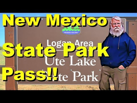 Time to Think About Getting a New Mexico State Parks Pass - Review of Ute Lake State Park