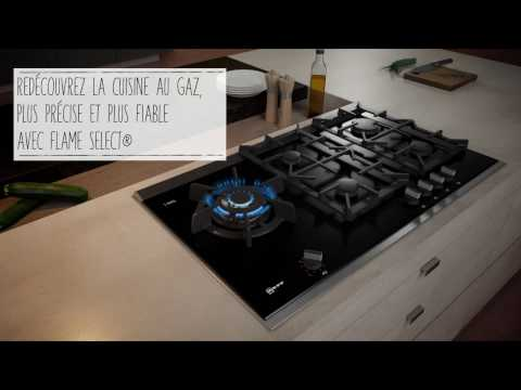Table gaz NEFF avec FlameSelect®